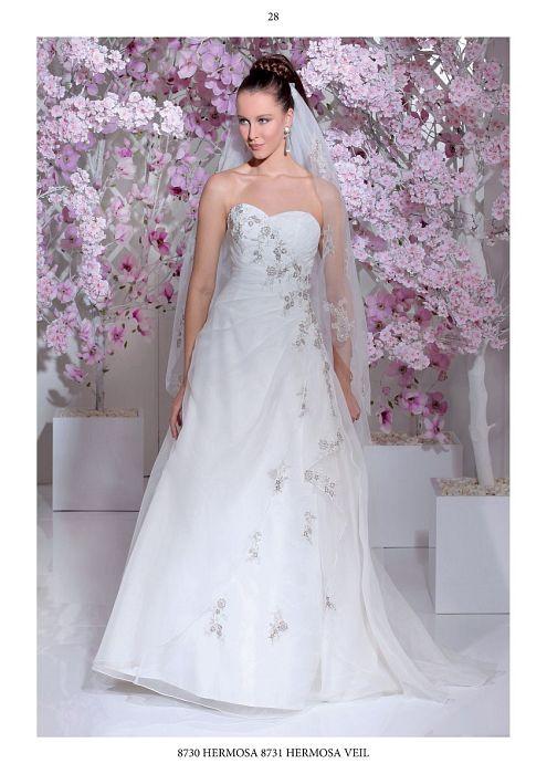 Brautkleider der Firma Isabel de Mestre ohne Galerieansicht.