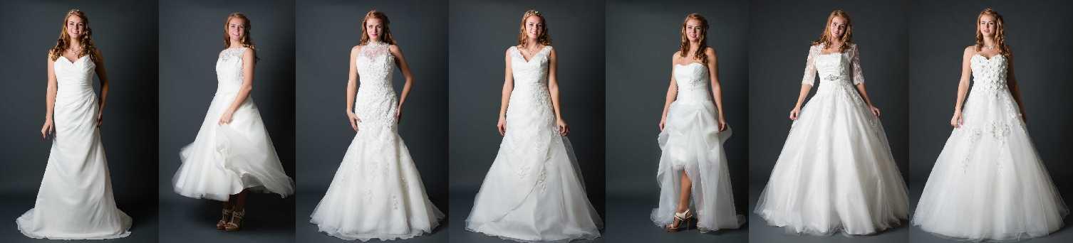 Viele Brautkleider