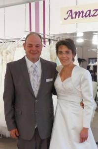 Hochzeit Claudia-Harald mit tollen Brautkleid