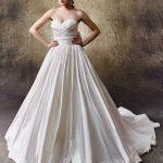 Brautkleid von Enzoani liliana rücken
