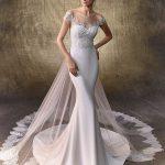 Brautkleid logan mit schleier von Enzoani