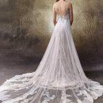 Brautkleidlovely rücken von Enzoani