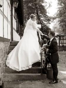 Braut Natalie und Marco