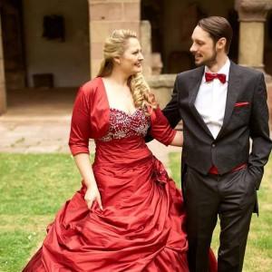Braut Natalie und Pascal
