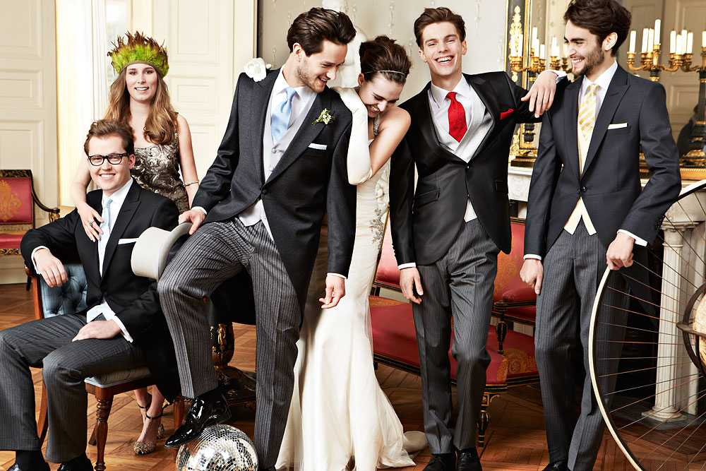Wilvorst Anzüge für die Hochzeit Cut und Smoking