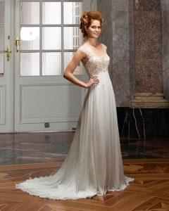 Brautkleid im Empaier Styl