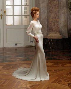 Brautkleid im Styl Schmal