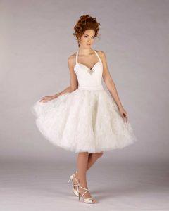 Brautkleid kurz gehalten