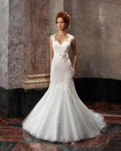 Brautkleid im Styl der Meerjungfrau