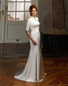 Brautkleid im Schmalen Styl
