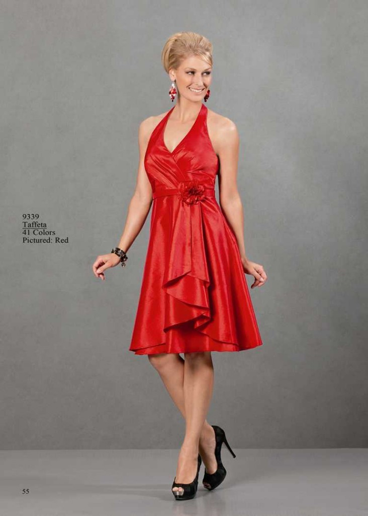 Cocktailkleid in rot