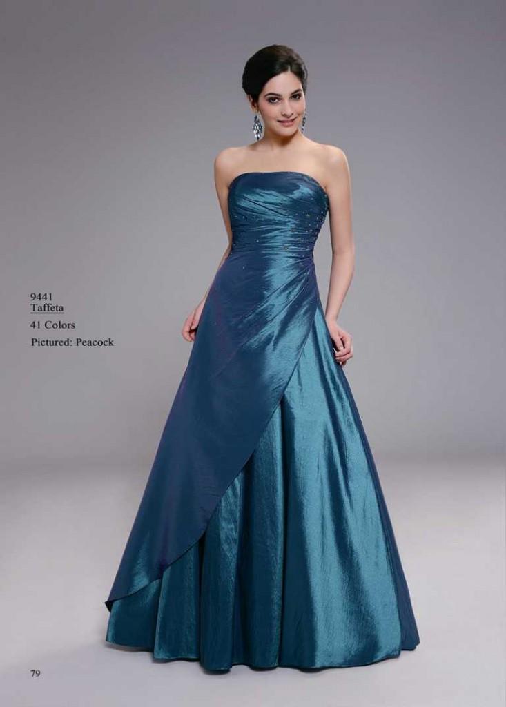 Abendkleid helles blau