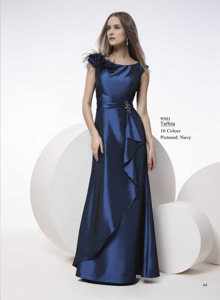 Abendkleid dukles blau