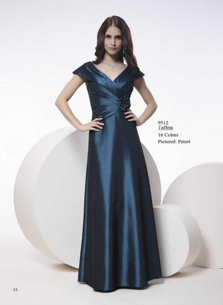 Abendkleid in blau