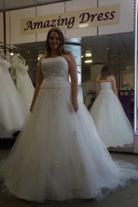 Braut Babara bei amazing-dress