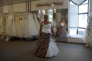 Braut Maria bei amazing-dress
