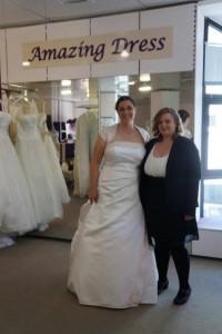 Braut Mirijam bei amazing-dress