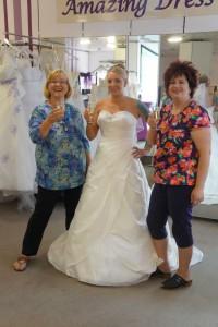 Braut Xenia bei amazing-dress