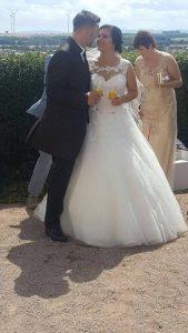 Tolle Hochzeit Lokation, auf einer Bug, von Anna und Tim