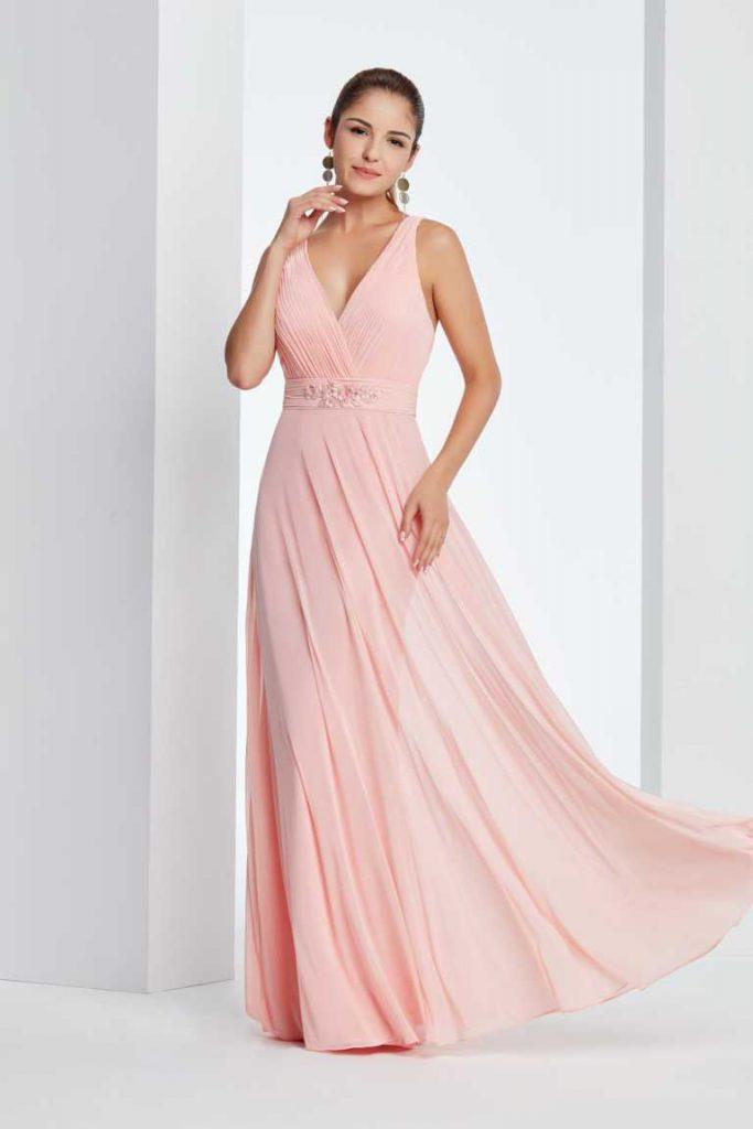 abendkleid-von-amelie in hellem rosa