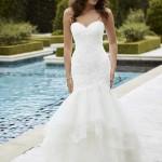 Brautkleid mit viel tüll