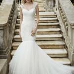 Brautkleid in Meerjungfrau stil