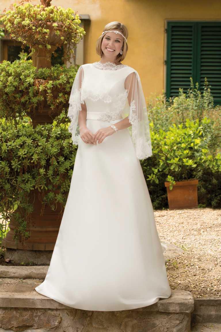 Tolle Seidig Brautkleid Zeitgenössisch - Hochzeit Kleid Stile Ideen ...