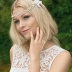 Brautkleid obertel mit Stickereien