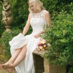 Brautkleid vorne kurz