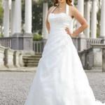 Brautkleid für die mollige braut