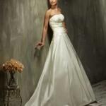 Brautkleid ohne träger