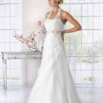 Brautkleid mit gürtel