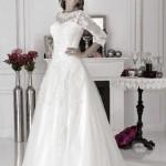 Brautkleid mit ärmel