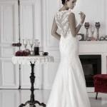 Brautkleid mit geschlossenem rücken