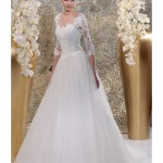 Brautkleid mit Bolero