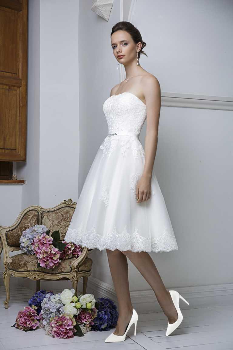 Brautkleider, auch in großen Größen, Brautmode auch für Mollige.