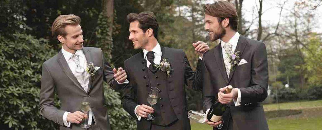 Kopfbild Hochzeitsmode Herren mit Wilvorst Anzüge