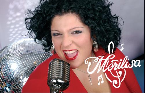 Sängerin Merilisa Miliziano